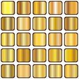 Pendiente de oro Foto de archivo