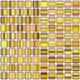 Pendiente de oro Fotografía de archivo libre de regalías