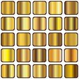 Pendiente de oro Imagen de archivo