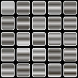 Pendiente de plata Fotografía de archivo libre de regalías