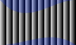 Pendiente gris del fondo abstracto con grunge azul transparente de la base de la lila del marco de la onda Fotos de archivo libres de regalías