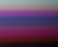 Pendiente horizontal multicolora Fotografía de archivo libre de regalías