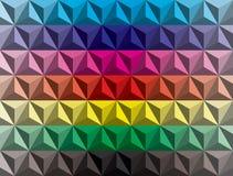 Pendiente polivinílica baja de las pirámides foto de archivo libre de regalías