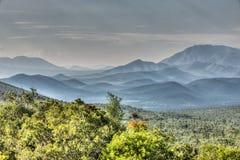 Pendii di collina di Guadalcazar, Messico fotografie stock libere da diritti