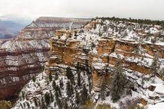 pendii di Grand Canyon Fotografia Stock