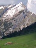Pendii di montagna Immagini Stock