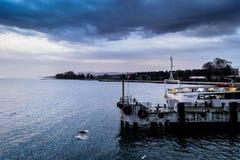 Pendik小游艇船坞和海运输-土耳其 免版税图库摄影