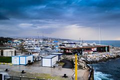 Pendik Marina And Sea Transportation - la Turchia Immagini Stock
