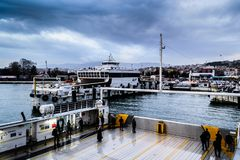 Pendik Marina And Sea Transportation - la Turchia Fotografia Stock Libera da Diritti