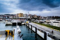 Pendik Marina And Sea Transportation - la Turchia Fotografie Stock