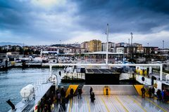 Pendik Marina And Sea Transportation - la Turchia Immagine Stock Libera da Diritti