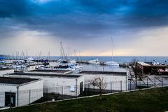 Pendik Marina And Sea Transportation - la Turchia Fotografia Stock