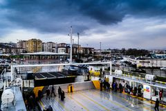 Pendik Marina And Sea Transportation - Turkey Stock Photo