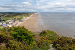 Pendine Sands beach Wales Royalty Free Stock Images