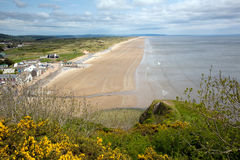Pendine Sands beach Wales Stock Photography