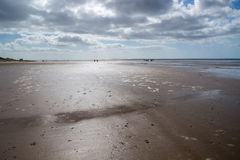 Pendine Sands Carmarthenshire Wales Stock Image
