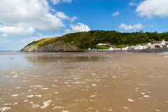 Pendine Sands Carmarthenshire Wales Royalty Free Stock Image