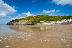 Pendine Sands Carmarthenshire Wales Royalty Free Stock Images