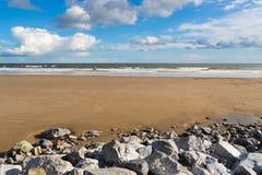 Pendine Sands Carmarthenshire Wales Stock Photos