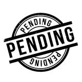 Pending rubber stamp Royalty Free Stock Photo
