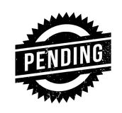 Pending rubber stamp Stock Image
