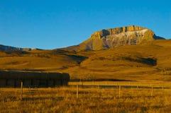 Pendio ad ovest Montagne Rocciose della collina Immagini Stock Libere da Diritti