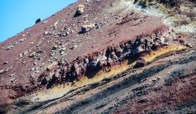 Pendio del vulcano dopo il erruption Fotografia Stock