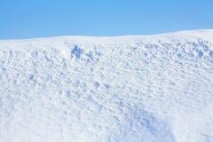 Pendio della neve. Sport o all'aperto immagine stock