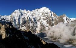 Pendio di alta montagna Fotografia Stock