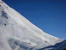 Pendio ripido dello sci in Zermatt, Svizzera Fotografia Stock Libera da Diritti