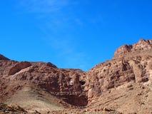 Pendio roccioso del paesaggio del canyon della GOLA di TODGHA nel MAROCCO, zona orientale di alta gamma di montagne dell'atlante  Fotografie Stock