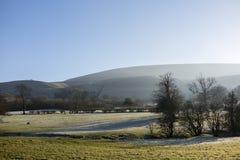 Pendle-Hügel, Lancashire stockbilder