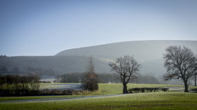 Pendle Hill, Lancashire Royalty Free Stock Photography