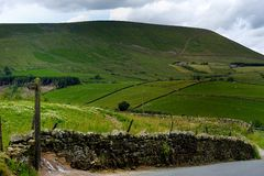 Pendle Hill Royalty Free Stock Photo