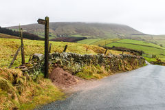 Pendle Hill 2 Royalty Free Stock Photos