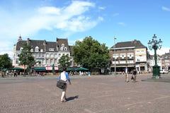 Pendler in Maastricht Lizenzfreie Stockfotografie