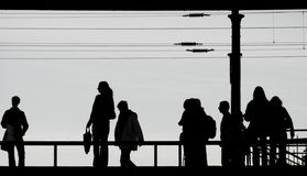 Pendlerschienenstation Ostkreuz Lizenzfreies Stockfoto