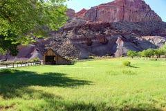 Pendletonschuur in Fruita, Utah royalty-vrije stock foto's