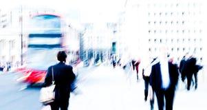 Pendolari della città Fotografie Stock