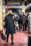 Pendolari Penn Station di NYC Fotografie Stock