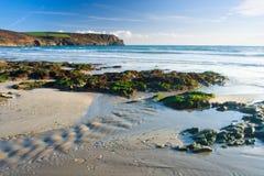 Pendower Beach Royalty Free Stock Photos