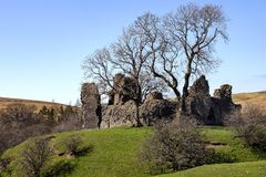 Pendragon Castle - Yorkshire Dales - England Royalty Free Stock Images