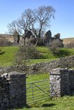 Pendragon Castle - Yorkshire Dales - England Royalty Free Stock Photo