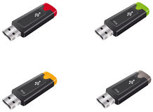 Pendrive Stock Photo