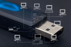Pendrive Stock Image