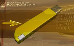Pendrive Royalty Free Stock Images