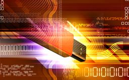 Free Pendrive Royalty Free Stock Photography - 8183427