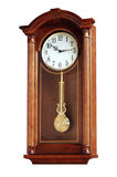 Pendulum clock. An old style pendulum clock Royalty Free Stock Images