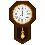 Pendulum clock Stock Photos