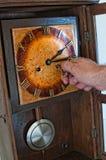 Pendulum clock Stock Image